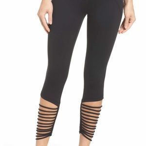 Zella high waist loop ankle midi legging